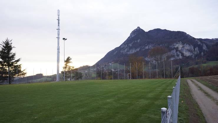 Die Antenne in Günsberg. (Archiv)