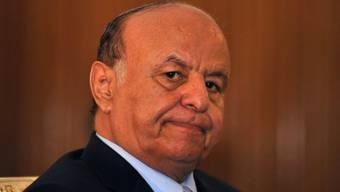 Der jemenitische Präsident Abd Rabbo Mansur Hadi (Archiv)
