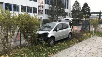 Unfall in Bubendorf BL (8.11.2019)