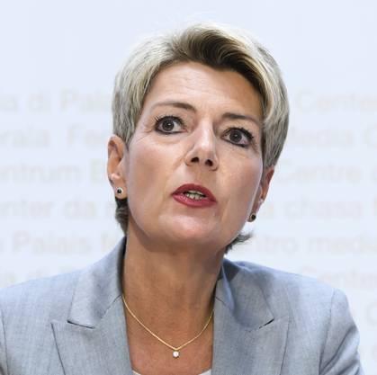 Justizministerin Karin Keller-Sutter : «Der Bund wird die Empfehlungen sorgfältig prüfen.»