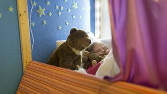 Guter Schlaf ist wichtig für die Erholung.