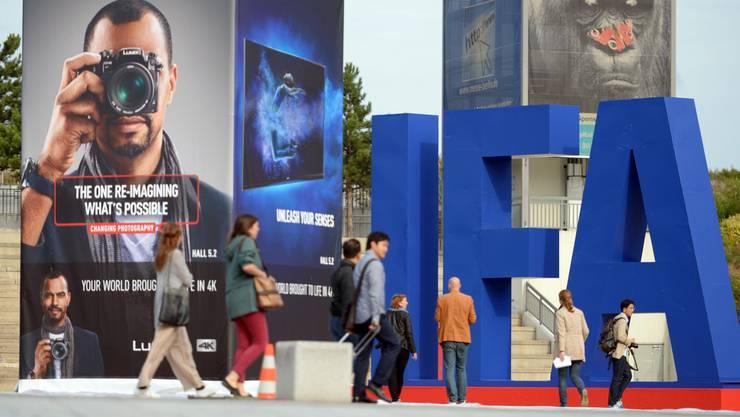 An der Internationalen Funkausstellung werden die neusten Produkte vorgestellt