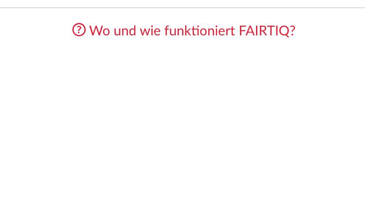 Vernetzt: Einsteigen und losfahren mit der App FairtiQ