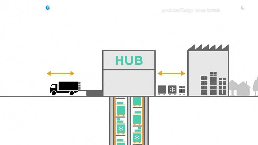 Projekt Cargo sous Terrain stösst auf offene Ohren