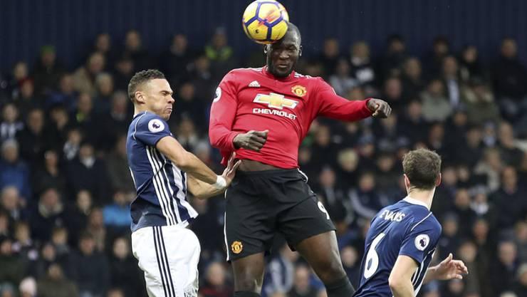Romelu Lukaku schoss seinen 10. Saisontreffer für Manchester United