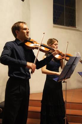 Die ersten Violinen geben den Ton an