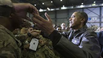 US-Präsident Obama im Kontakt mit den US-Soldaten in Bagram