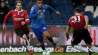 Robin Quaison avanciert für Mainz zum Matchwinner (Archiv)