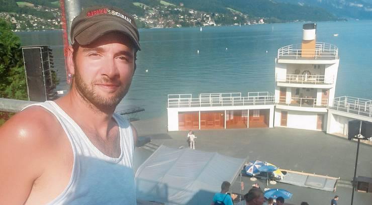 Simon Eichenberger 2012 als Choreograf von «Titanic» bei den Thunerseespielen