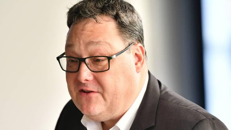 Der neue VR-Präsident des EHC Olten: Marc Thommen.
