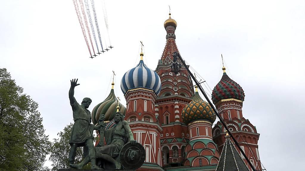 Moskau erwartet viele Gäste bei Parade zum Sieg über Hitler