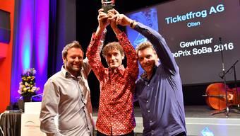 Innoprix 2016 geht an die Ticketfrog AG