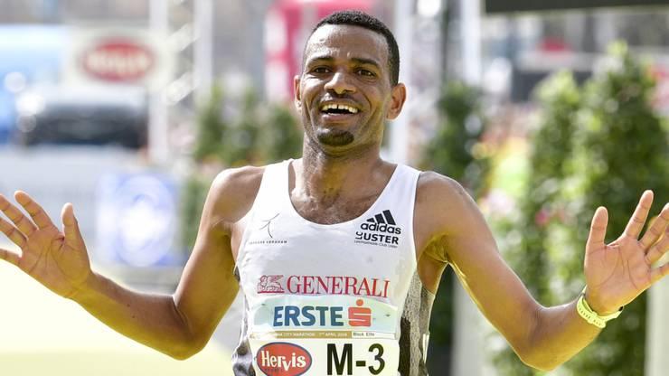 Tadesse Abraham (36) machte zuletzt von sich reden, als er Anfang April am Wien-Marathon Zweiter wurde. Er siegte in Aarau drei Mal in Serie: 2005, 2006 und 2007.