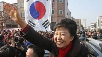Park Geun Hye, Favoritin bei der Präsidentschaftswahl in Südkorea