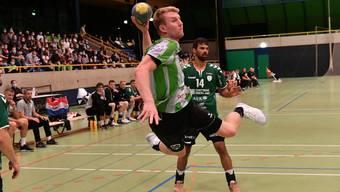 Impressionen vom Cup-Sechzehntelfinal des HV Olten gegen NLA-Klub Wacker Thun