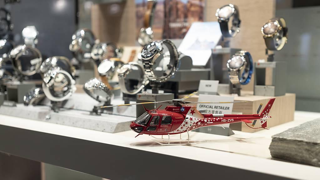 Uhrenexporte ziehen zu Jahresbeginn deutlich an. (Archiv)