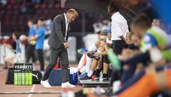 Kriegt zu oft aufs Dach: GC-Trainer Thorsten Fink.
