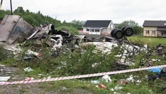 Flugzeugabsturz in Russland