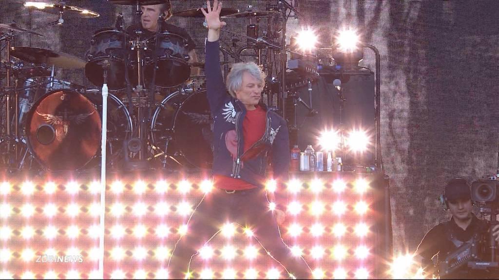 Bon Jovi rockt Zürich auch grauhaarig