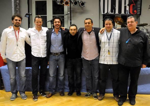 Gimmi Palermo Vorstand +OK, Luca Grisoni Vorstand + OK-Präsident, Tuncer Ulutas, Vorstand Marco Valavitta, Vorstan