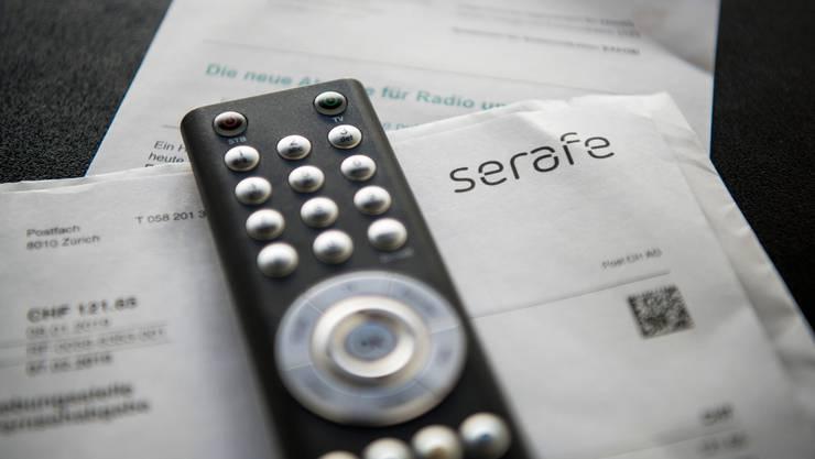 Solche Rechnungen sollen Unternehmen erspart bleiben, ist Meinung der SVP.         Bild:  (KEYSTONE/Christian Beutler)