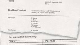 Eines der internen IFPI-Dokumente, die az veröffentlichte.