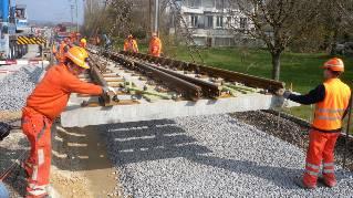 Vigier Rail ist ein gewichtiger Hersteller von Beton-Bahnschwellen.