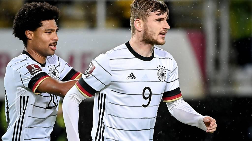 Timo Werner traf gegen Nordmazedonien doppelt