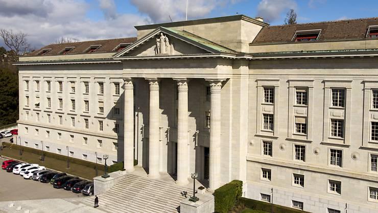 Erteilt der Rüsthalle in Stetten grünes Licht: Das Bundesgericht in Lausanne. (Archivbild)