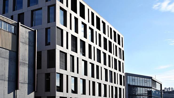 Der Hauptsitz in Brugg.