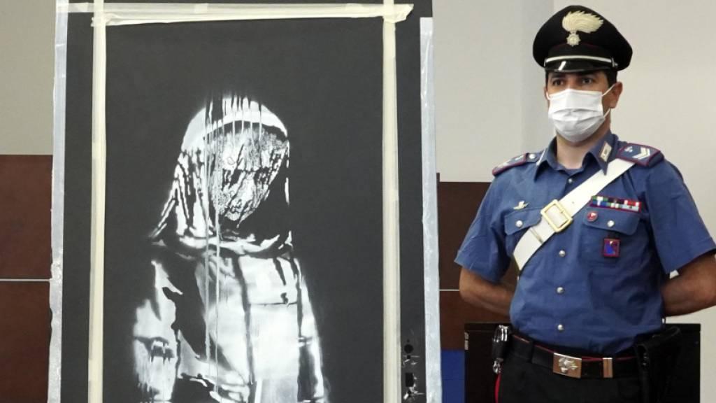 Gestohlene Banksy-Tür: Sechs Festnahmen in Frankreich