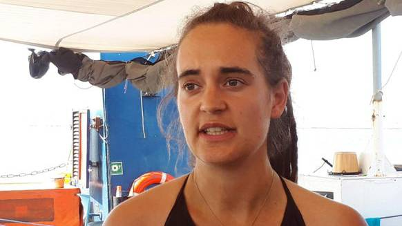Carola Rackete drohen zehn Jahre Haft.