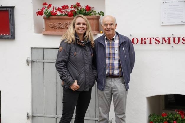 Der Präsident der Gesellschaft historischer Springbrunnen Richterswil, Dr. med. Ueli Bachmann, weiss ungemein viel über die Geschichte des grossen Dorfes.