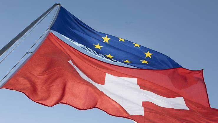 Seit 2014 verhandelt Brüssel mit der Schweiz über ein Rahmenabkommen – heute muss der Bundesrat eine Entscheidung fällen. (Symbolbild)