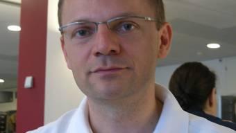 Adrian Schibli: «Die Arbeit ist streng, aber auch sehr befriedigend.» Alfred Borter