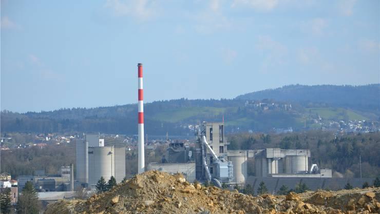 Die Jura Cement Fabriken AG will noch bis 2050 in Auenstein und Veltheim Material abbauen. JAM/Archiv AZ