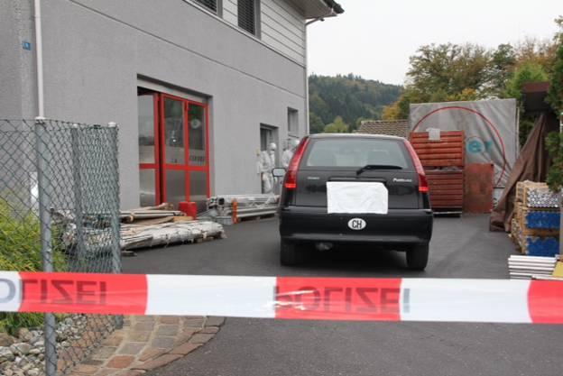 Der Tatort am Montag in Gränichen.
