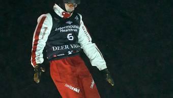 Pirmin Werner sprang erstmals aufs Weltcup-Podest