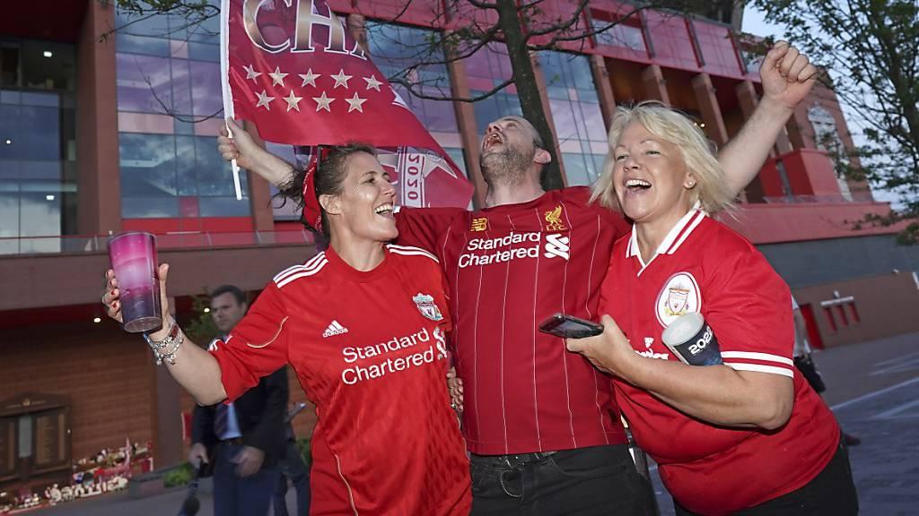 Jetzt definitiv: Liverpool erstmals seit 1990 Meister