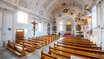 Die Marienkirche in Oberdorf wird nun auch innen restauriert.