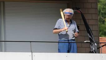 Polizeieinsatz in Baden nach Attacke mit Samurai-Schwert