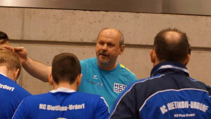 Der HC Dietikon-Urdorf und sein Trainer Jan Sedlacek stehen vor der Rückkehr in die 1. Liga.