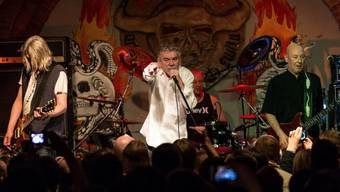 Die Rock-Dinosaurier von Nazareth sind heuer das Zugpferd für das Sierre Blues Festival (Archiv 2013)