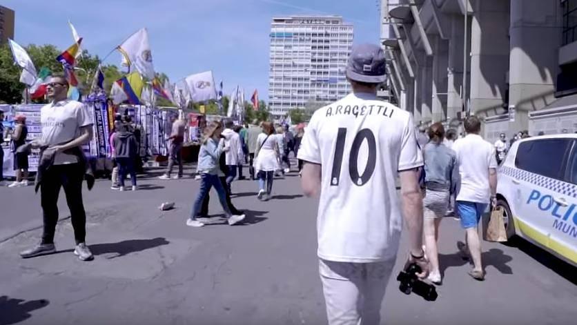 Andri Ragettli ist ein riesiger Real Madrid-Fan.