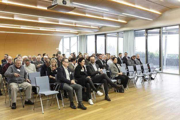 Die Generalversammlung des IHV war gut besucht.