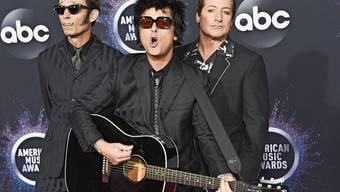 Haben nach Jahrzehnten immer noch grosse Freude am gemeinsamen Bandprojekt: Green Day.
