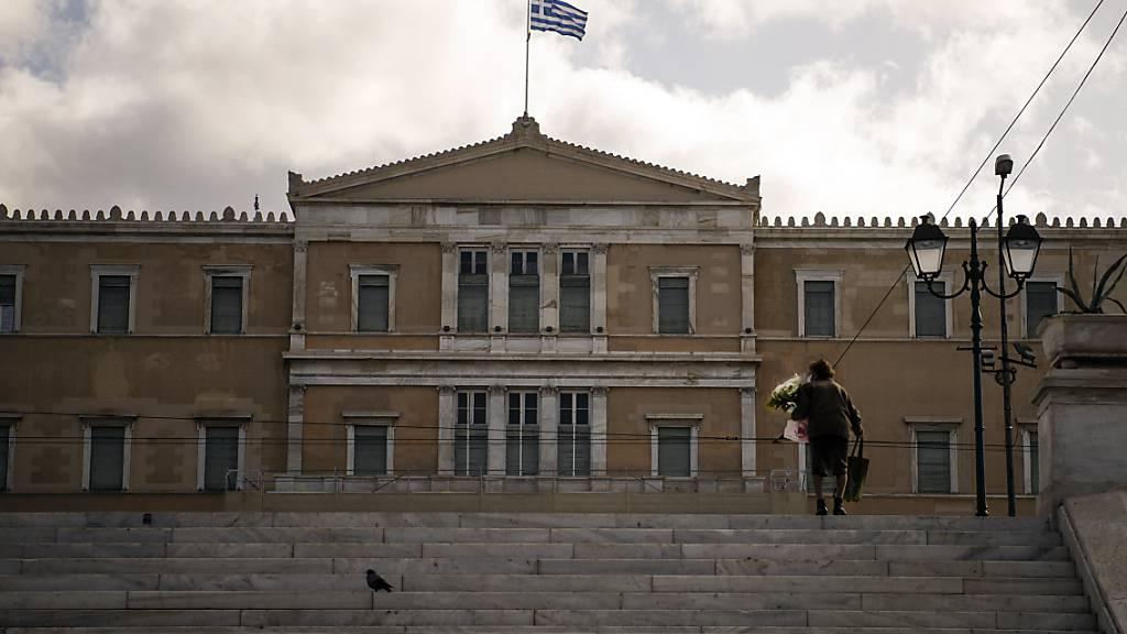 ARCHIV - Das Parlament in Athen hat beschlossen, dass Griechenlands Hoheitsgebiete im Ionischen Meer von sechs auf zwölf Seemeilen ausweitet werden. Foto: Angelos Tzortzinis/dpa