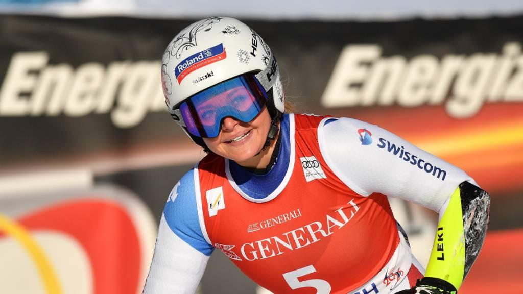 Corinne Suter holt sich ihren zweiten Weltcupsieg