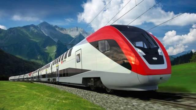 Zwei Jahre später als geplant wird der neue Doppelstock-Intercityzug übers SBB-Netz rollen. Foto: Keystone