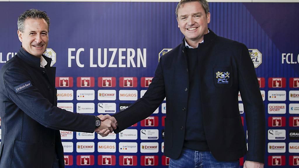 Präsident des FC Luzern wegen illegaler Cupfeier mit Busse bestraft